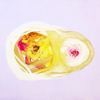 Isabella Nazzarri, Sistema innaturale #32, 2016, olio su tela, 80x100 cm