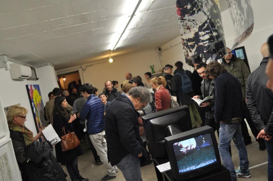 la mostra finale del workshop Manuale per artist