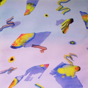 Isabella Nazzarri, Innesti (Dopola tempesta), acquerello su carta, 70x70 cm, 2018