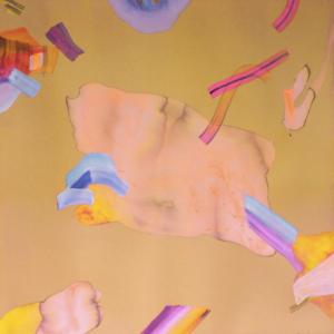 Isabella Nazzarri, Innesti (Terra e cielo), acquerello su carta, 70x70 cm, 2018