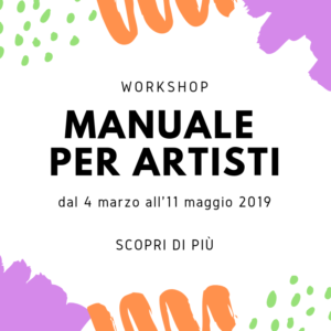 Manuale per artisti workshop circoloquadro