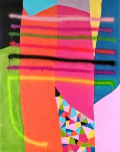Circoloquadro_Giulio Zanet_Untitled_2018_tecnica mista su tela_150x120cm