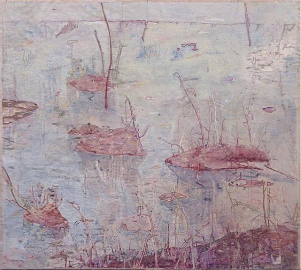 Agnese-Skujina-Senza-titolo-acrilico-su-carta-140x160cm-2014